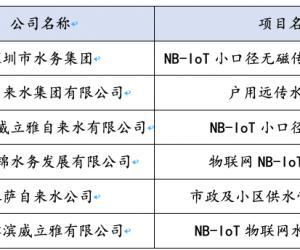 基于NB-IoT的智能化水表的产品化与应用推广