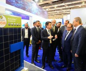 正泰中自亮相埃及国际电力、照明及新能源展会