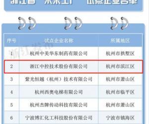 """喜报:浙仪协会员单位入选浙江省""""未来工厂""""试点企业"""